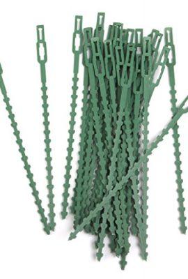Lot-de-30pcs-165cm-Serre-cble-Lien-en-Plastique-pour-Jardinage-Bricolage-Vert-0