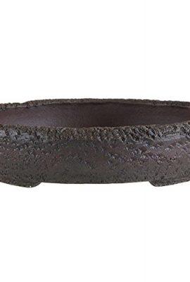 Pot--bonsa-26x26x58cm-travail-manuel-brun-roux-ancien-rond-en-grs-0